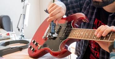 Отстройка гитары